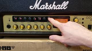 My Marshall CODE 100H Head Review And Demo