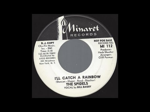 The Spidels - I'll Catch A Rainbow - '63 Soul / R&B Ballad on Minaret DJ / Promo label
