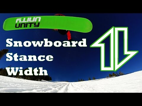79dc80a42ea How to find YOUR snowboard stance width - YouTube