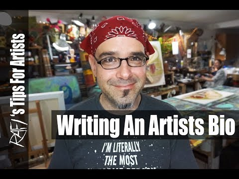 Writing An Artist Bio Tips For Artists