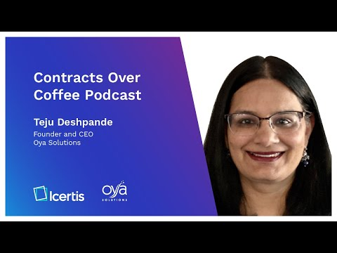 Contracts Over Coffee with Oya Solutions' Teju Deshpande