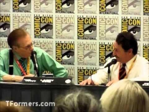 SDCC 2012 Larry King Interview with Peter Cullen - Part 1