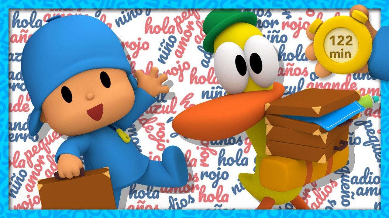 🆒 POCOYO E NINA - Aprender vocabulário [122 minutos] | DESENHOS ANIMADOS para crianças