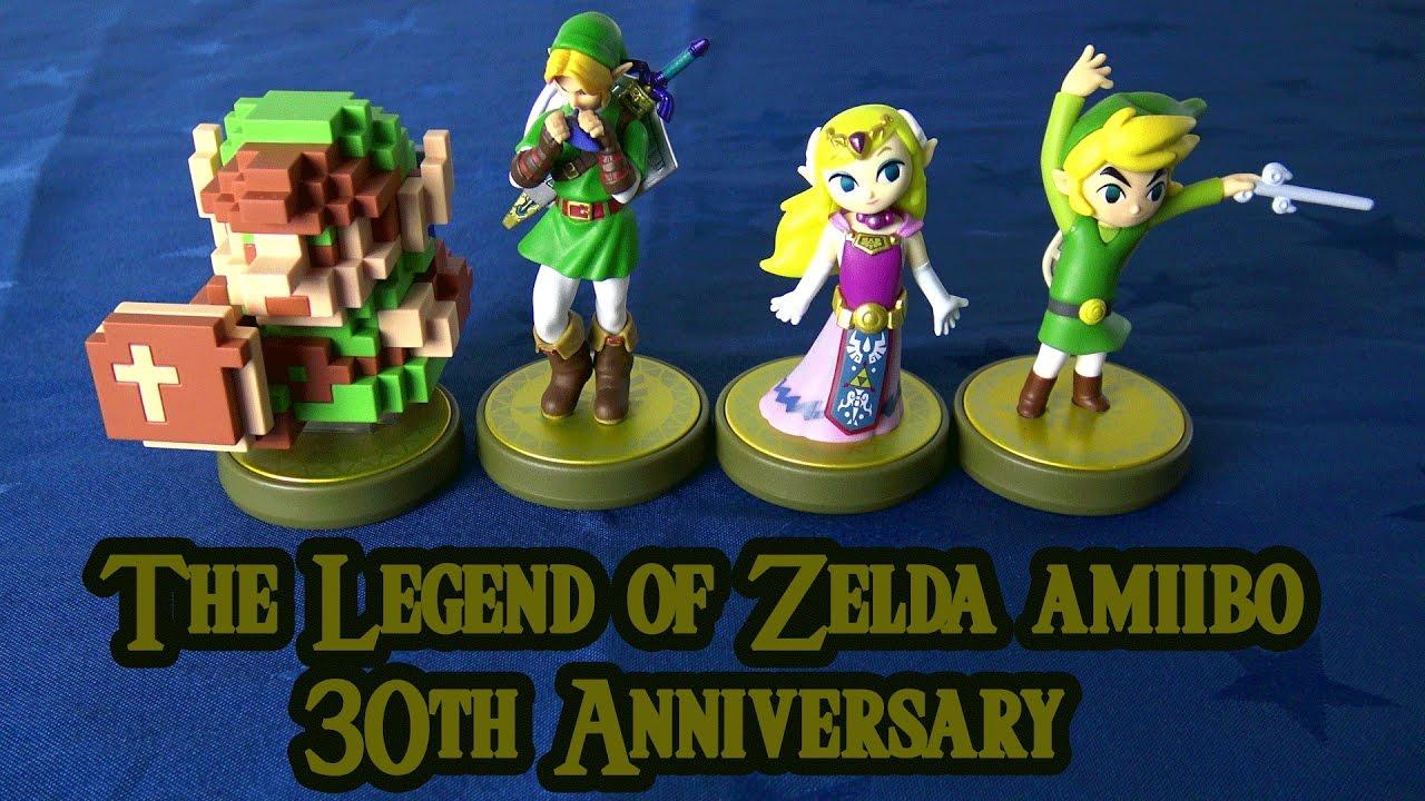 The Legend of Zelda 30th Anniversary amiibo Unboxing  YouTube