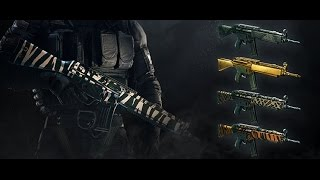 [ Pack Safari ] Rainbow Six Siege   Premier pack de skin d