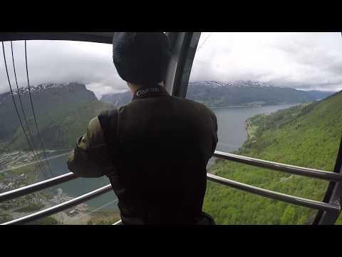 Loen Skylift in Norway (FULL 6 Minute Journey)