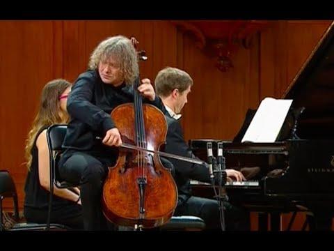 Alexander Kniazev & Nikolai Lugansky play Shostakovich Cello Sonata - video