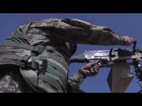 Taking the Lead: Afghan Soldiers Conduct Live Fire Convoy Exercise