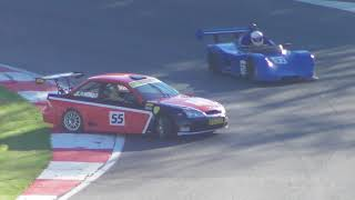 upload car 55 spins  Irish supercars race at Formula Ford Festival Brands Hatch 2018 21oct18 159p