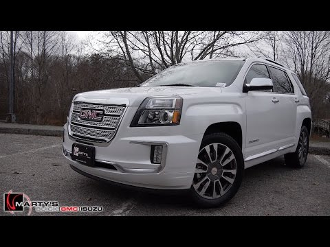 2016 GMC Terrain Denali - This is it!