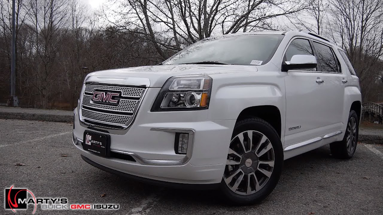 2016 gmc terrain denali this is it youtube. Black Bedroom Furniture Sets. Home Design Ideas