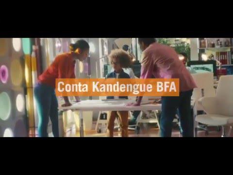 Models Factory no anúncio Conta Kandengue BFA (Banco Fumento de Angola)