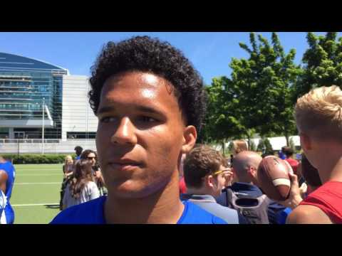 Solomon Enis, 4-star 2018 WR, discusses interest in Oregon Ducks