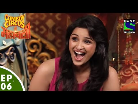 Comedy Circus Ke Mahabali - Episode 6 - Parineeti Chopra in Comedy Circus Ke Mahabali: Click here to Subscribe to SET Channel : https://www.youtube.com/user/setindia?sub_confirmation=1 Click to watch all the episodes of Comedy Circus Ke Mahabali - https://www.youtube.com/playlist?list=PLzufeTFnhupyctHQljWIV2fkw0m5_vSoN Parineeti Chopra in Comedy Circus Ke Mahabali - Super Comedian Krushna welcomes Actress Parineeti Chopra who talks about her upcoming film Shudh Desi Romance. Mahabalis of Comedy Circus are celebrating Comedy Circus ke Blockbusters. Watch out for Sudesh. Enjoy the hilarious acts of 'Mahabalis' and their yoddhas who take you on a funny roller coaster ride starting with Balraj and Siddhart's act followed by Mubeen's act. Watch out for Bharti, Shakeel and Goli's act. Will Sudesh find a perfect Groom for Rakhi Sawant? - A must watch act!  The New season is called