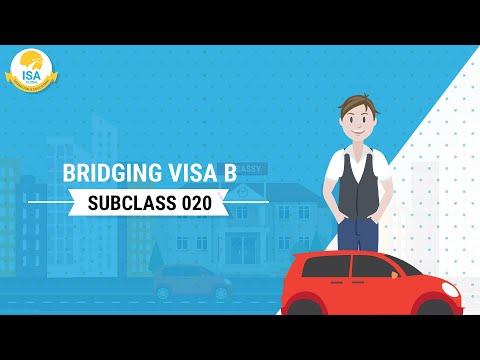Bridging Visa B Subclass 020