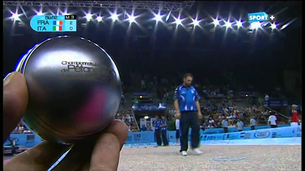 France italie championnat du monde de p tanque 2012 1 for Championnat du monde de boules carrees