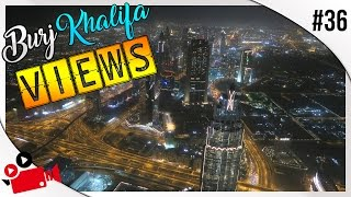 VIEW FROM THE WORLD'S TALLEST BUILDING!! | BURJ KHALIFA