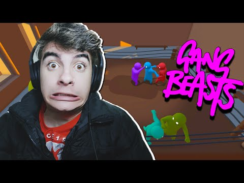 LUTA LIVRE !! - Gang Beasts Online