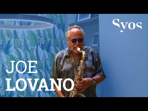 Joe Lovano Testing His Syos Mouthpiece