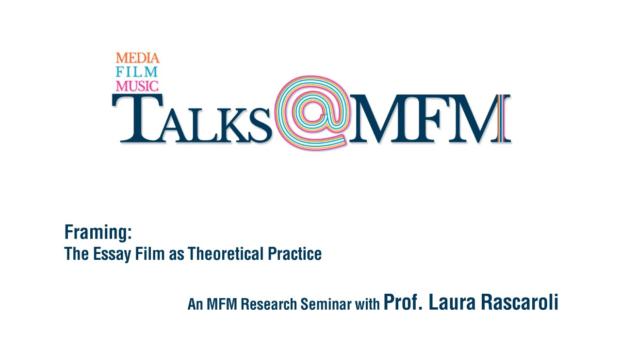 talks mfm laura rascaroli 2015 reframe