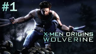 X-MEN ORIGINS WOLVERINE Gameplay Walkthrough Part 1: Introduction (PC HD)