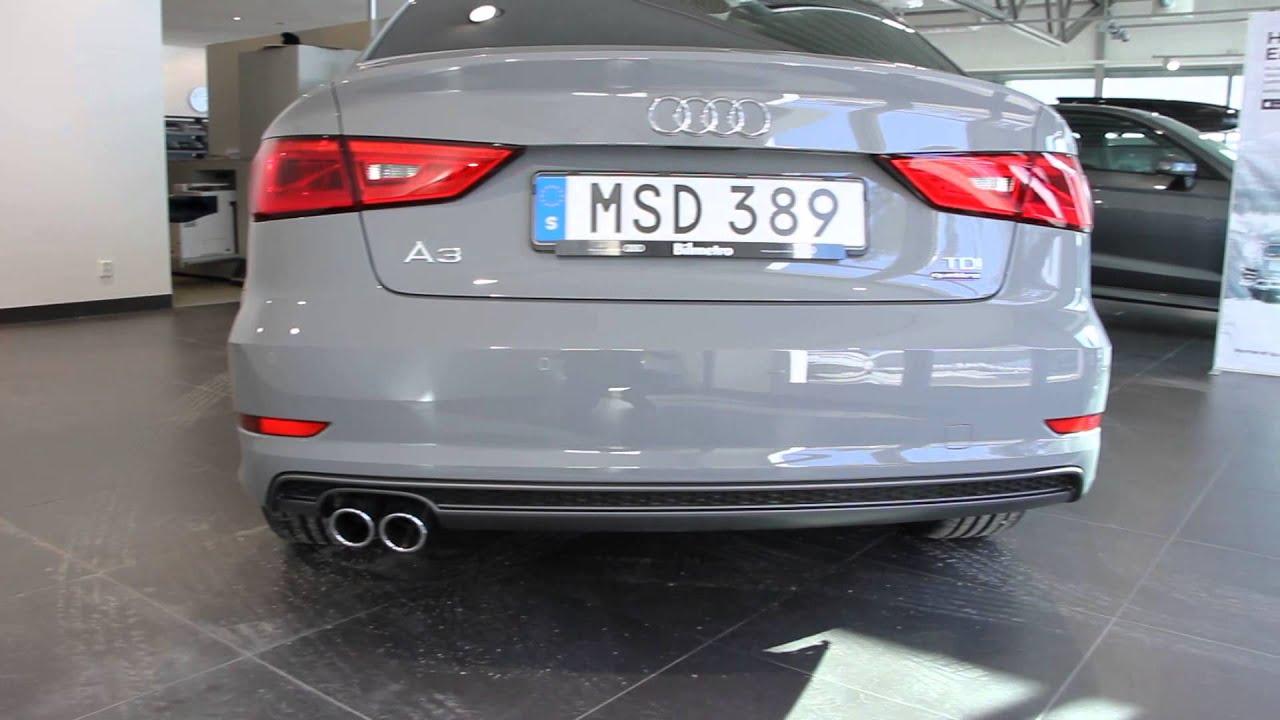 Rare Nardo Gray Audi A3 Sedan Tdi Quattro 184ps