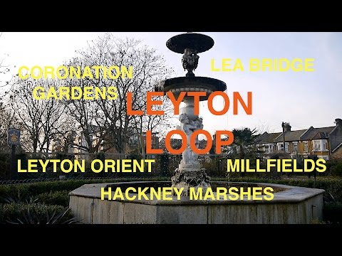 Midwinter Walk through Leyton & Hackney Marshes