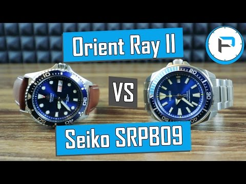 "Orient Ray II vs Seiko SRPB09 Blue Lagoon ""Samurai"" - Which Should You Buy?"