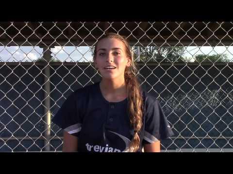 Nikki Ferraro - Wheeling High School - Class of 2019 - Softball Recruit - OF