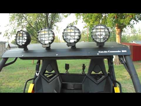 can-am-commander-power-steering-(with-4-hid-lights!)