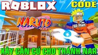 Roblox | KIA XÂY DỰNG CĂN CỨ VÀ BIẾN THÀNH THÁNH NARUTO - Anime Tycoon (Code) | KiA Phạm