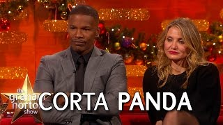 cameron diaz jamie foxx and usher attempt a cockney accent the graham norton show