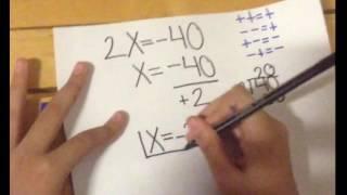 Ecuaciones de primer grado (a+x=b,  ax=b,  ax+b=c)