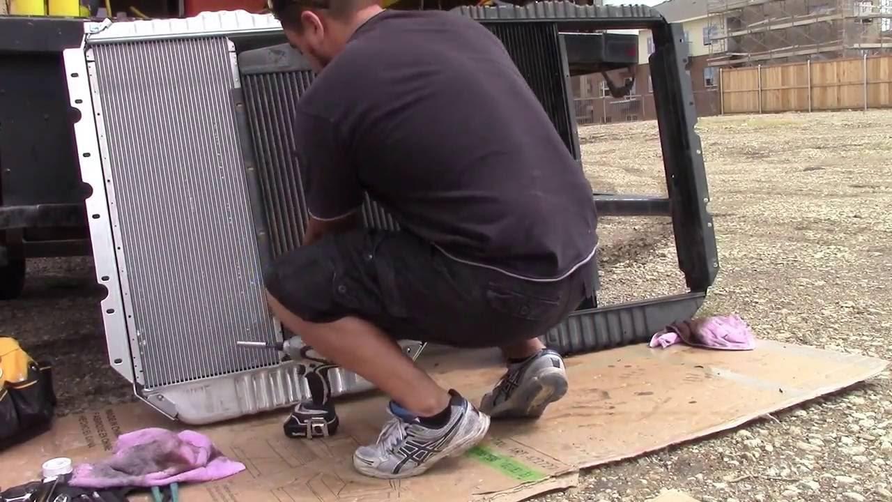 1997 International 4700 466e Overheating Problems Youtube Navistar 4300 Dt 466 Engine Cooling Diagram