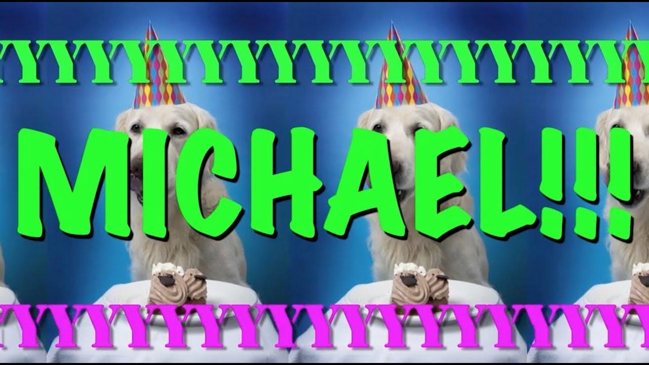 happy birthday michael  epic happy birthday song  youtube