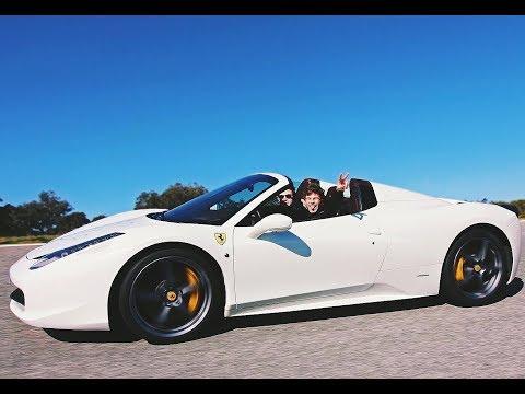 I Drove My DREAM CAR! - Ferrari 458 Spider