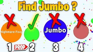 Find the Real Jumbo in AGAR.IO ?!! ( Prop Hunt in Fortnite )