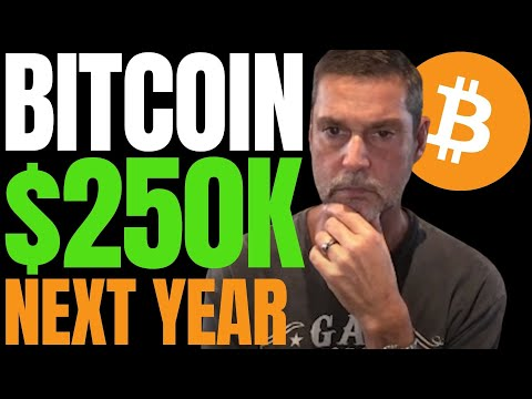 BITCOIN COULD REACH $250K NEXT YEAR DUE TO INSTITUTIONAL MONEY SAYS MACRO INVESTOR RAOUL PAL!!
