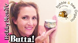 Bubble and Bee Face Lotion + Body Butta! Organic Beauty Product Review by HobbyMom
