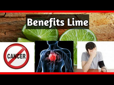 Health Benefits of Lime, Nutritional Facts