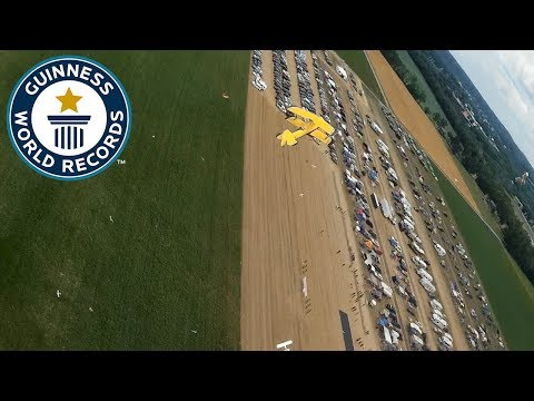 RC planes swarm breaks world record – Guinness World Records