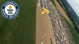 RC planes swarm breaks world record - Guinness World Records