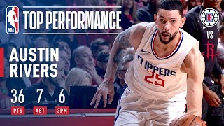 Austin Rivers Scores a CAREER-HIGH 36 Pts in Win vs. Rockets | December 22, 2017