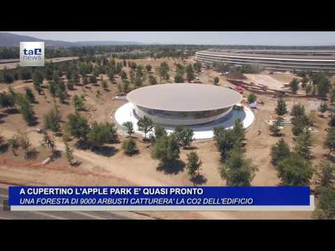 A CUPERTINO L'APPLE PARK E' QUASI PRONTO