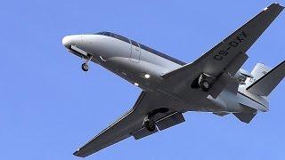 NetJets Europe Cessna 560XLS Citation XLS CS-DXX approaching at Berlin Tegel Airport