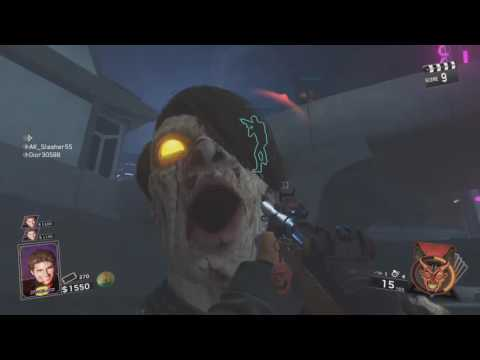 Infinite Warfare Zombies: Getting to the Parking Lot Map Glitch