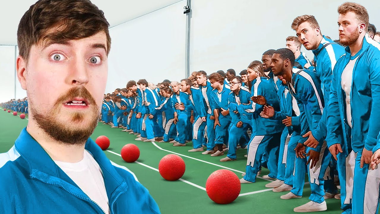 Download World's Largest Game Of Dodgeball