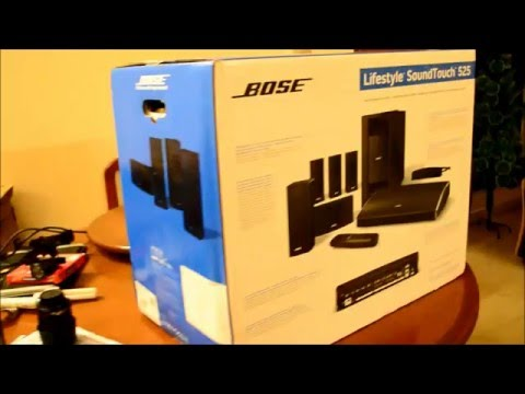 Bose Lifestyle SoundTouch 525 Series III Entertainment System Unboxing Video