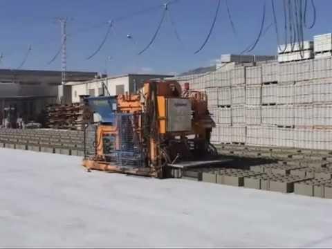 HORPRE NOVA-51. Presse mobile pour béton robotisée et automatique