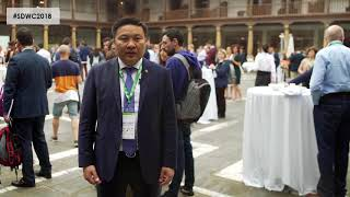 Namsrai Tserenbat - Interview from the 2nd World Conference on Smart Destinations 2018